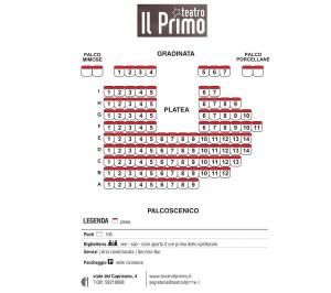 Piantine Teatri Napoli